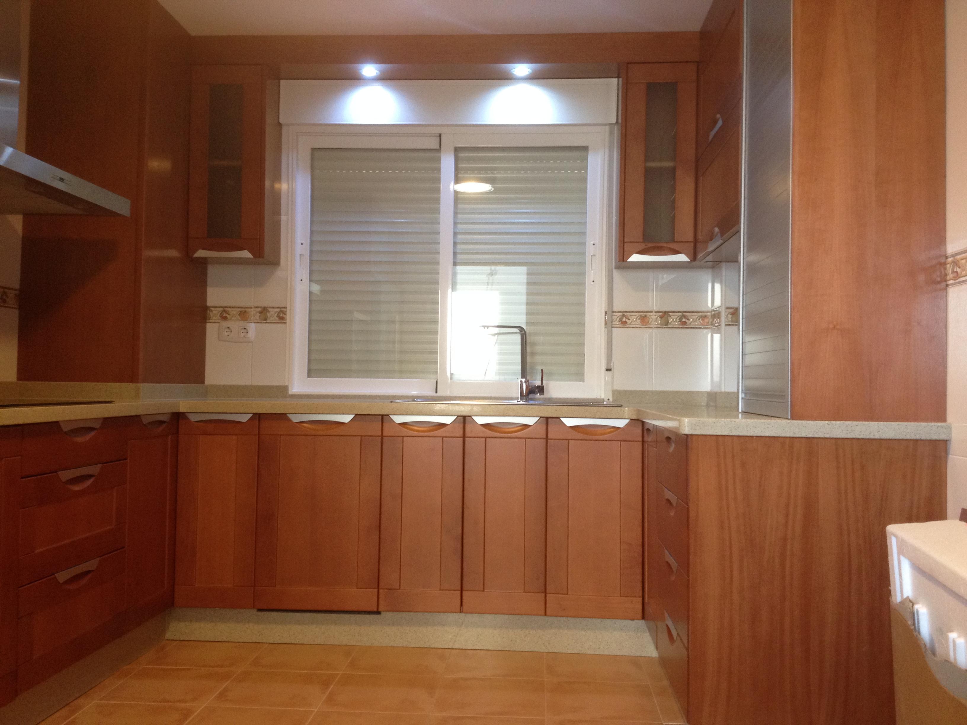 nueva cocina madera